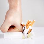Acupunctuur als ondersteuning bij het stoppen met roken.